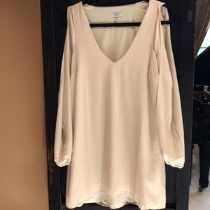 Tobi cream dress
